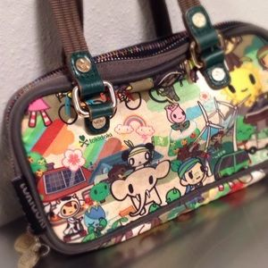 TOKIDOKI Bacio Eco Mondo mini bag